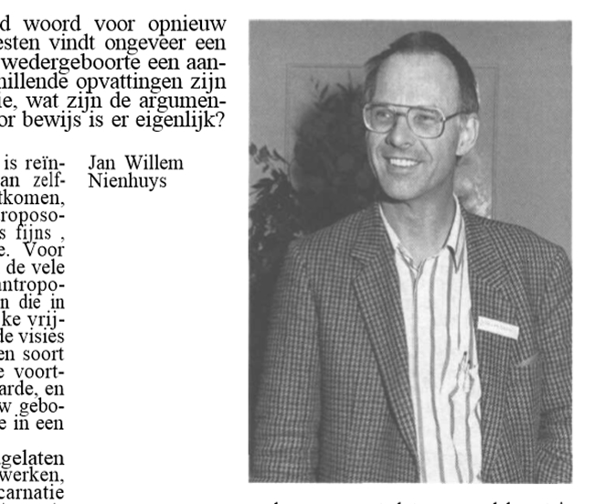 Rob's trusted friend and colleague: Jan Willem Nienhuys, Skepter, Volume 2, #4, December 1989