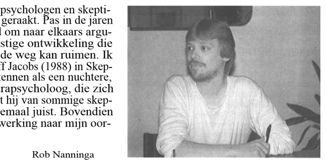 Rob Nanninga, Skepter, Volume 1, #3, September 1988