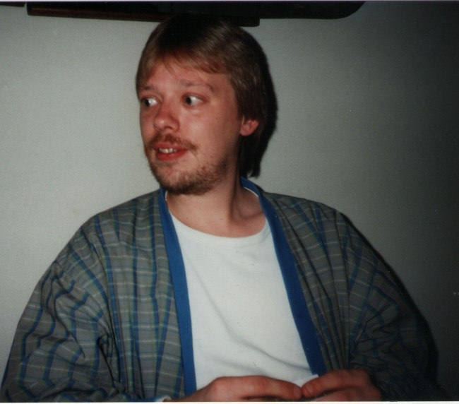 "Rob Nanninga 1989, photo as used for his obituary in the ""Groninger Gezinsbode"" - photo: Skepter"