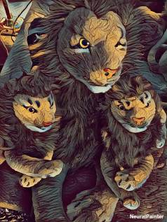 Rob Nanninga Lion Art