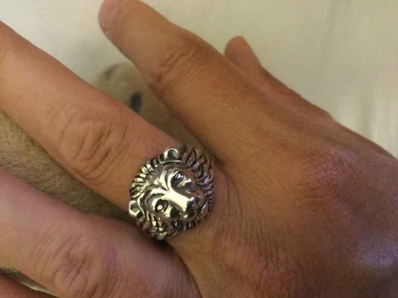The lion ring of God