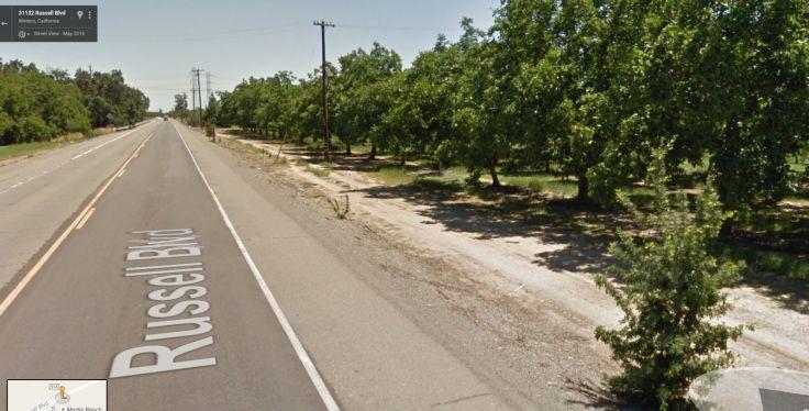 Russell Boulevard, Winters, California