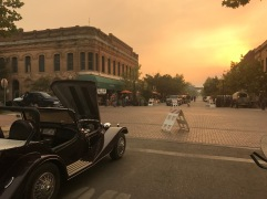 October 10 2017, Napa Fire effects in Winters, Vacaville, and Davis too