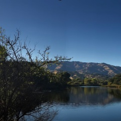 For comparison Lake Solano on a normal day (December 15, 2017) - all photos, courtesy and copyright: Constantia Oomen
