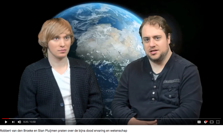 Screenshot YouTube: Stan (L) en Robbert van den Broeke (R)
