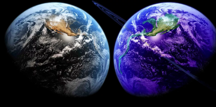 Twin Earth, image kindly borrowed from: https://futurism.media/does-the-earth-have-a-hidden-twin