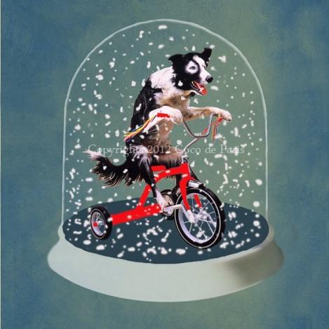 Another Davis, Davis as magic Snow globe