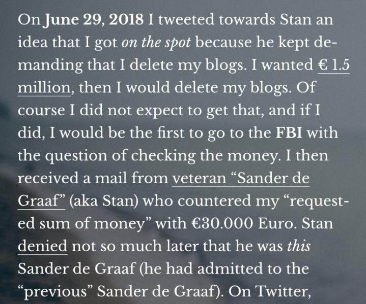 Behind The Scenes Of Robbert Van Den Broeke, Part IV (August 2018)